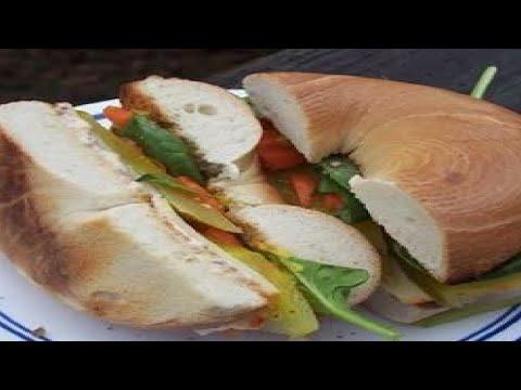 Bagel Sandwich - Make Tasty & Delicious Bagel Sandwich