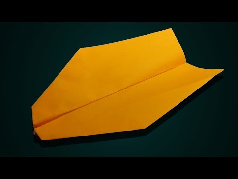 How to make a boomerang airplane out of paper