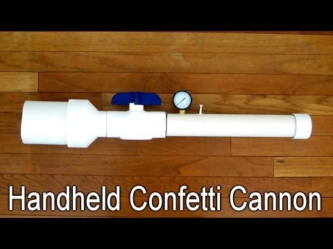 How to Make a Simple Confetti Cannon