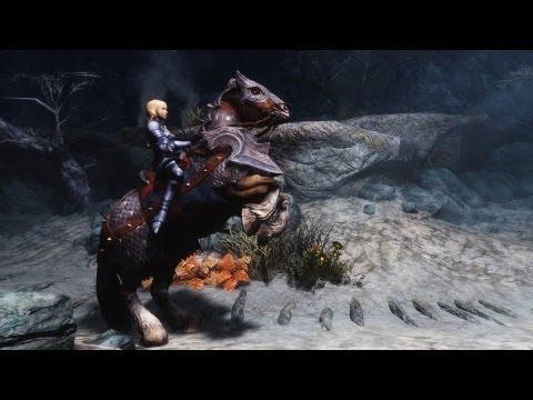 Skyrim Mod: Sethai and Elthrai Horse Armors