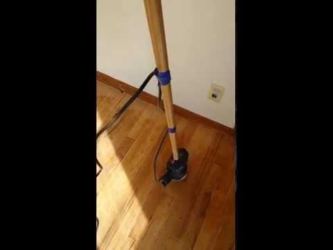 Sanding A Hardwood Floor With A 5