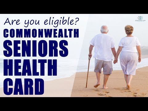 Are you eligible for a Commonwealth Seniors Health Card?