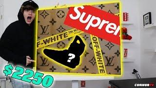 $2,250 Hypebeast Mystery Box! Nike Mag Off White Supreme LV