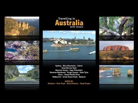 Australia Travel Video - Sydney, Blue Mountains, Uluru, Great Barrier Reef ...