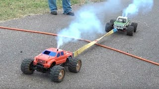 BEST OF RC Cars Tug Of War Videos    Traxxas And More