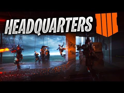 HEADQUARTERS in BLACK OPS 4 (Black Ops 4 Multiplayer Gameplay)