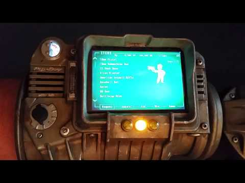 Working and Fully Functional Pip-Boy 3000 using Raspberry Pi