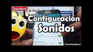 Configuración De Sonidos Android Samsung Galaxy S6 Español