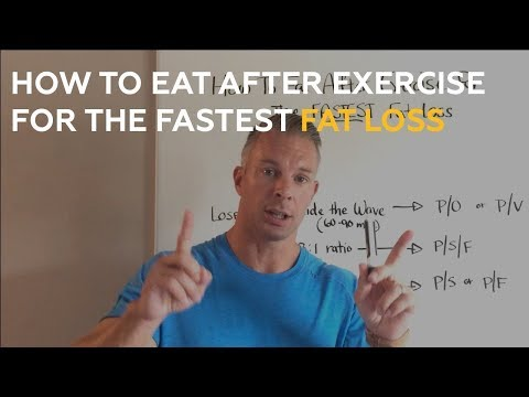 How to eat AFTER exercise for the FASTEST Fat Loss