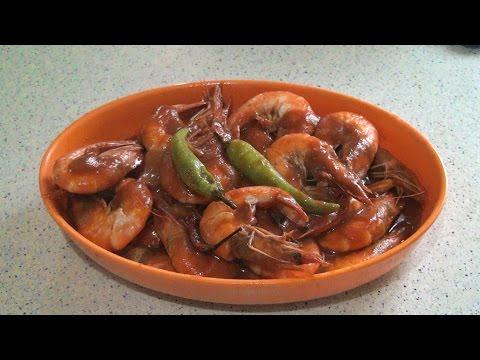 Shrimp with Sweet Tomato Paste