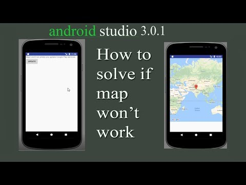 How to solve if map will not work. (Android studio)