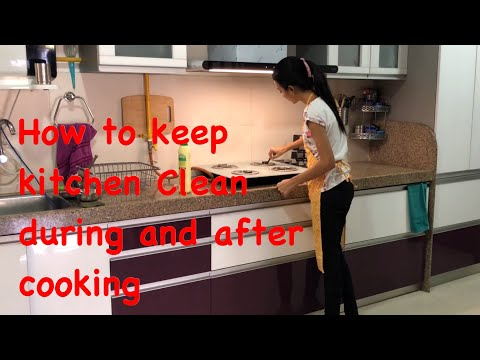 Kitchen Cleaning Routine | Cleaning Motivation | Clean with me | Priya Vlogz