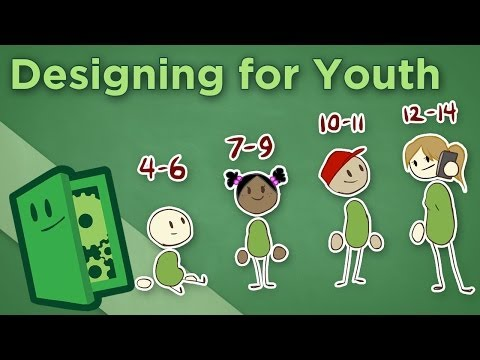 Designing for Youth - Making Games for Players Under 14 - Extra Credits