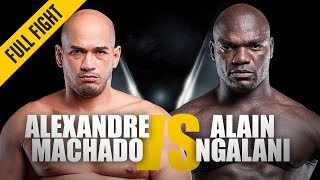ONE: Full Fight   Alexandre Machado vs. Alain Ngalani   Grappling Showcase   August 2016