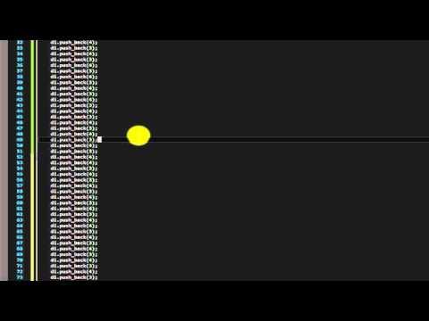 C++ Deque (part2)