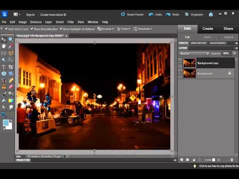 Photography Tutorial: Fixing ISO / Noise in Photoshop Elements
