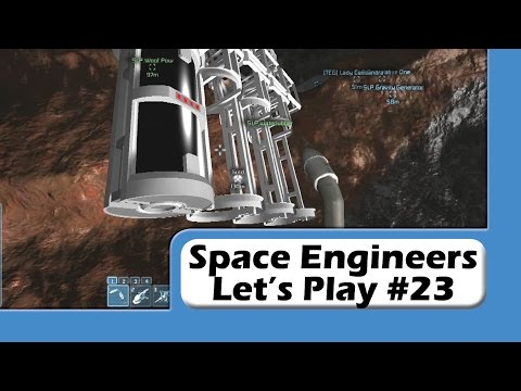Space Engineers - Let's Play #23 - O2 Farming