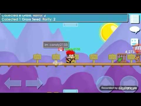 How to make a platform seed/tree in growtopia