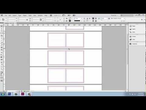 Adobe InDesign CS6 - Interior Design Portfolio - Part 1 - UI and New Document - Brooke Godfrey