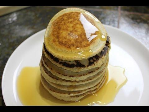 Gluten-Free Vegan Blendtec Blender Pancakes - Healthy Recipe