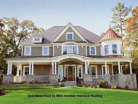 Metal Roofs Keep Your Home Cool in Summer, Warm in Winter