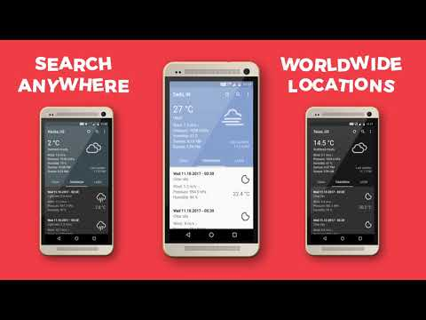 Download Weather Forecast App with Awesome Widgets on Play Store