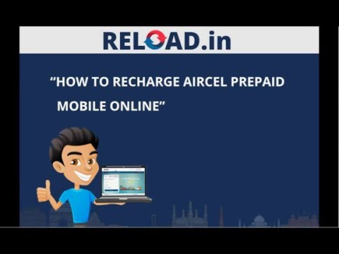 Aircel Mobile Recharge with Reload.in
