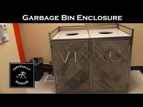 Garbage Can Storage Box