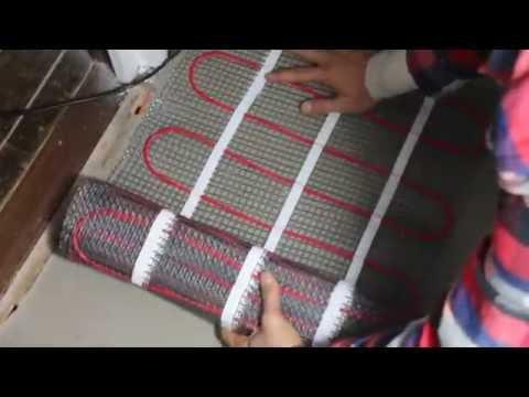 Part 6: How to Install Underfloor Heating