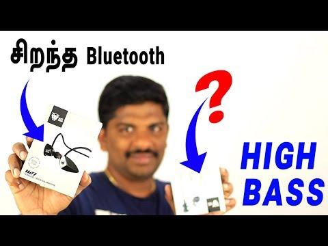 புதிய Ant Audio H27 bluetooth & W59 wired earphone Review in Tamil - Loud Oli Tech