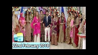 "Good Morning Pakistan - ""Maa, Maamta Aur Makeup Day 4 - 22nd February 2018 - ARY Digital Show"