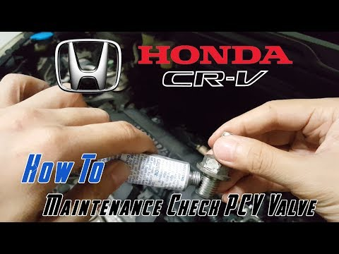 How to Clean PCV Valve Honda CRV