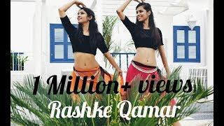 """MERE RASHKE QAMAR""- Belly & Indian Dance Fusion || Mini Sethi & Radhika Mohta"