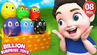 Nursery rhymes for babies | 3D Nursery Songs Compilation from Billion Surprise Toys