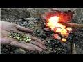 Primitive Technology Building A Metal Furnace Copper Cu