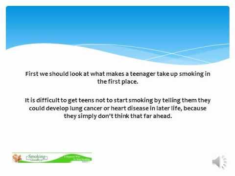 smoking and teenagers