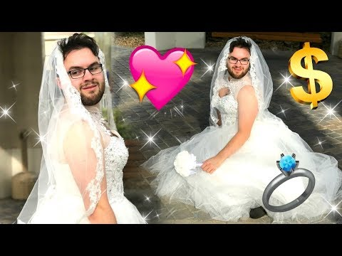 I BOUGHT A WEDDING DRESS AND HAD A PHOTOSHOOT