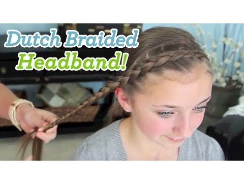 Dutch Braided Headband | Dance Moms | Cute Girls Hairstyles