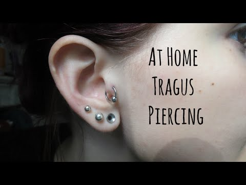 How I Pierced my Tragus at Home | Alyssa Nicole