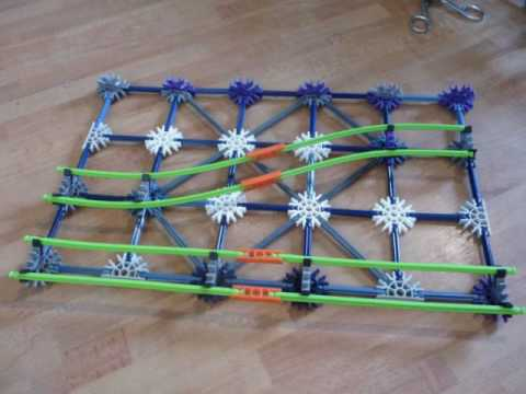 Knex Switch-track Tutorial Rollercoaster