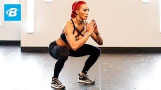 Monster Monday At-Home HIIT Workout: FYR: Hannah Eden
