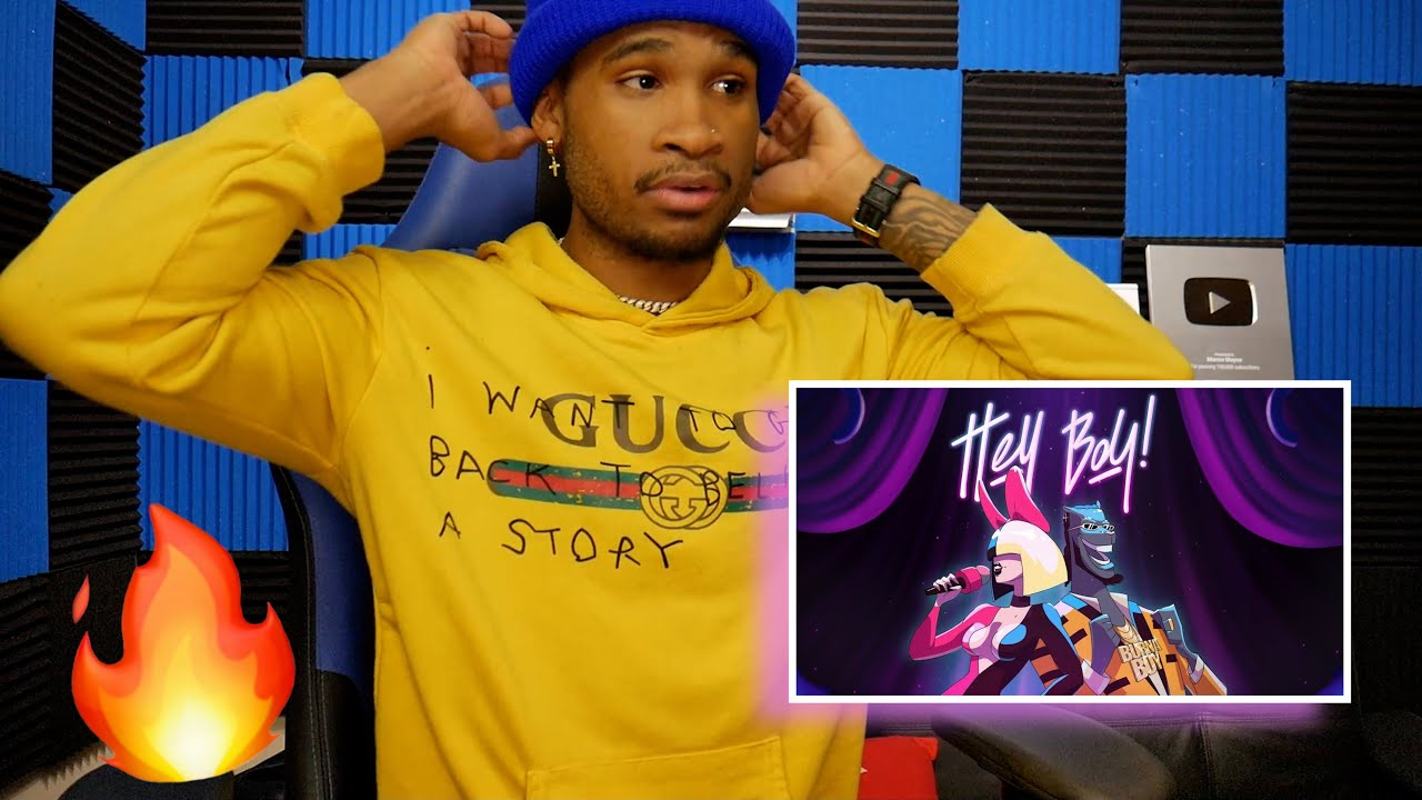 Sia - Hey Boy feat. Burna Boy (Official Video) | REACTION