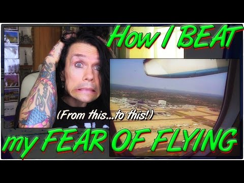 How I beat my Fear of Flying: Real world tips & advice to overcome, conquer then ENJOY air flight!