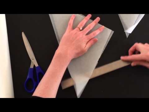 How to make a paper piping bag