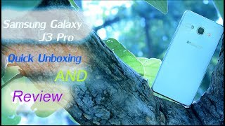 SAMSUNG GALAXY J3 Pro   | Unboxing | Details