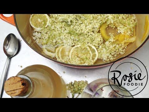 How to Make Fresh Elderflower Cordial | Rosie Foodie