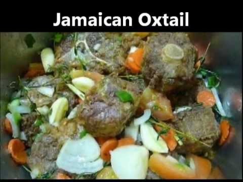 Caribbean Food Restaurant Cook Jamaican Oxtails Stew Recipes