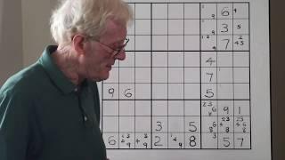 Sudoku Tutorial #3-A Part 2 / Strong Links & Weak Links