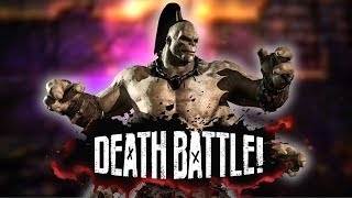 Goro Stomps in DEATH BATTLE!