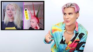 Hairdresser Reacts To Insane Punk Hair Tutorials